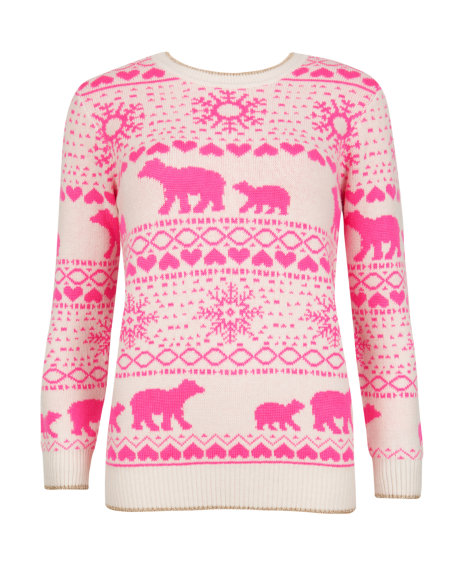 MEDON Polar bear Fair Isle jumper     £99 click to visit Ted Baker
