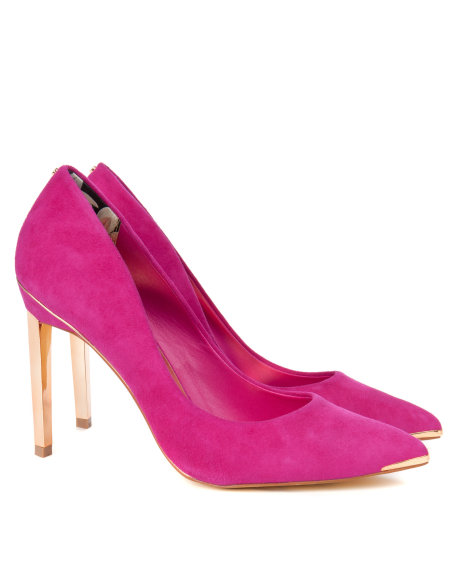 ELVENA Metal pointed court shoes     £110 click to visit Ted Baker