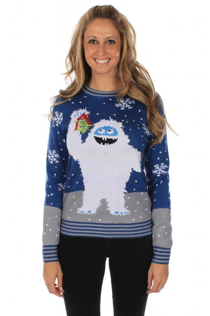 Women's Romantic Yeti Jumper £38 click to visit Tipsy Elves