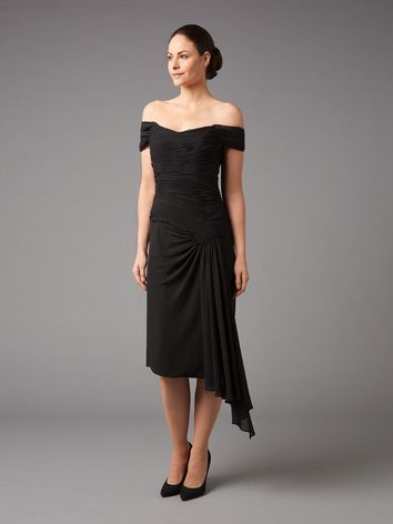 Asymmetric Waterfall Dress £199.00 click to visit Jacques Vert
