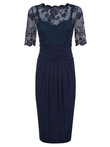 Lace & Jersey Dress now £64.50 click to visit Kaliko
