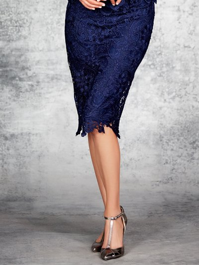 Guipure lace pencil skirt now £18 click to visit M&Co