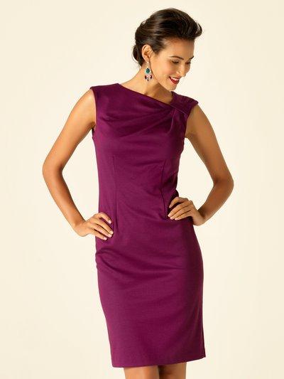 Asymmetric neckline shift dress £17.50 click to visit M&Co