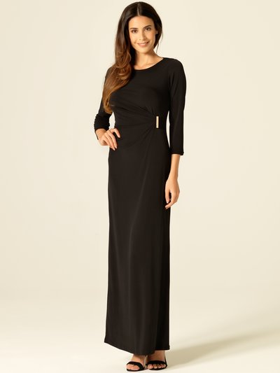 Black maxi dress with sleeves now £24 click to visit M&Co