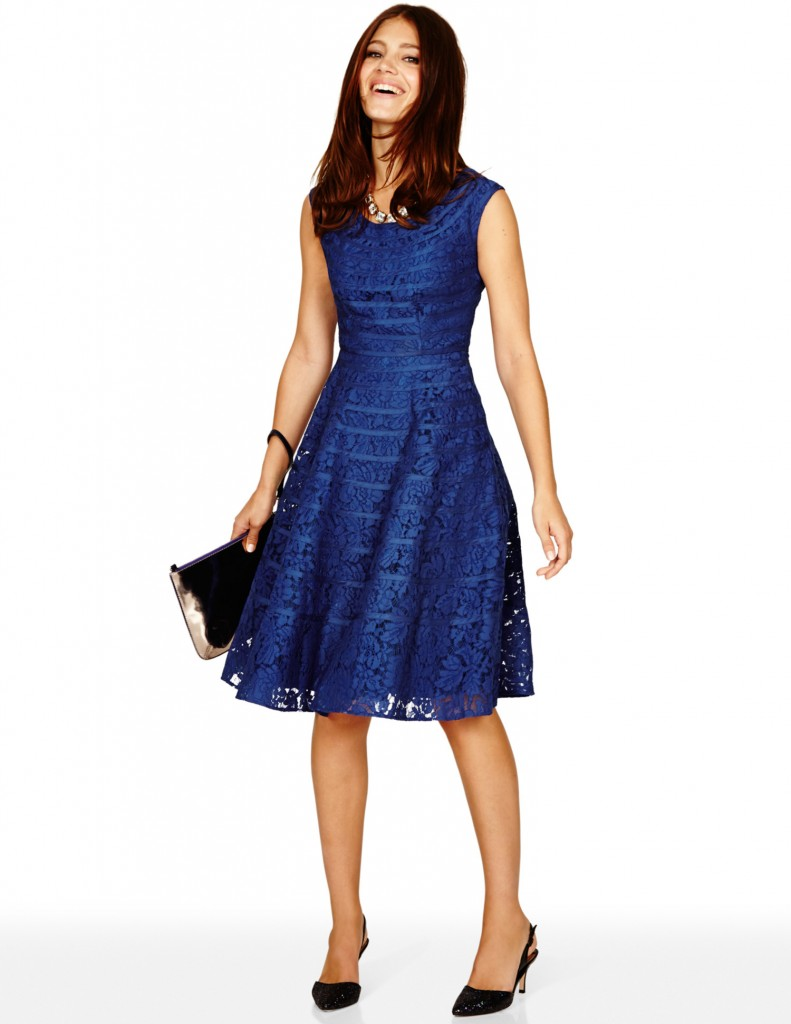 Lace Marilyn Dress BR039 Was £299.00 Now £179.40  click to visit Boden