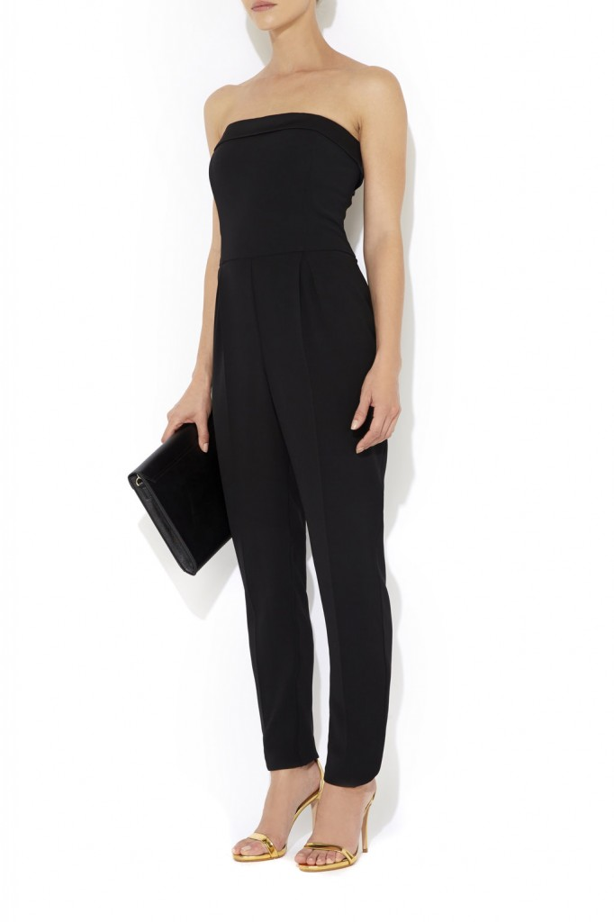 Black Satin Back Jumpsuit     Was £80.00     Now £56.00 click to visit Wallis