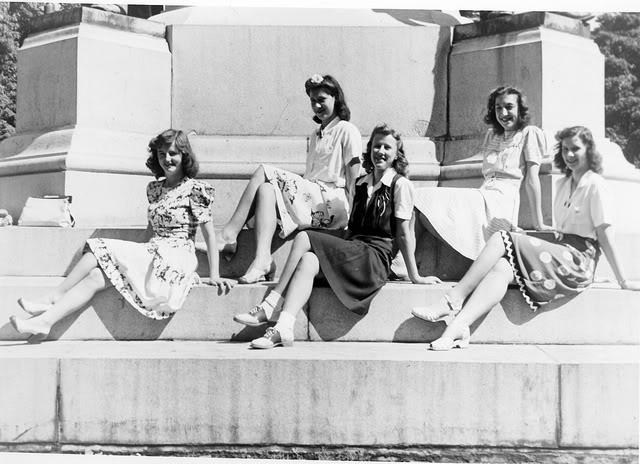 1940s shoe fashions