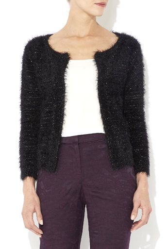 Black Sequin Cardigan     Was £35.00     Now £26.25 click to visit Wallis