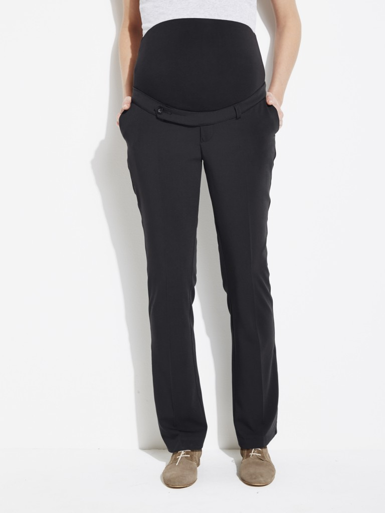 "Long Stretch Maternity Trousers - inside leg 33"" now £23.40 click to visit Vertbaudet"