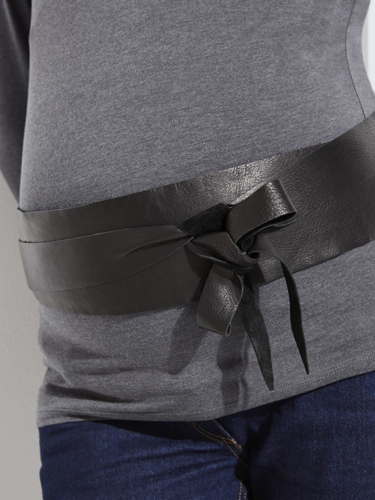 Leather Maternity Belt £39 click to visit Vertbaudet