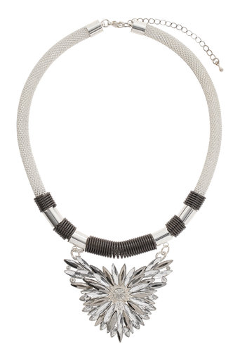 Silver Sparkle Pendant     Was £16.50     Now £11.55 click to visit Wallis