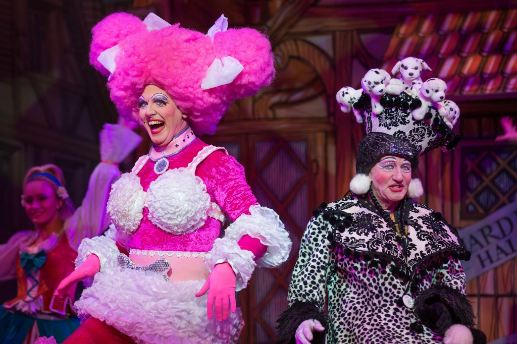 Ben Stock and Tony Jackson as the Ugly Sisters