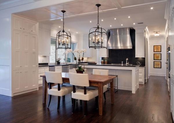 Candlelight-kitchen-lighting