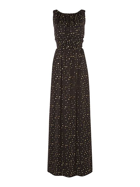 Biba Star print column maxi dress £101.40 click to visit House of Fraser