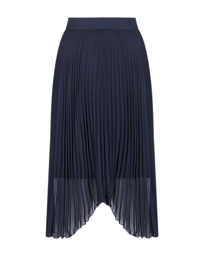 M&S COLLECTION Asymmetric Pleated A-Line Skirt T573713     £23.00 click to visit M&S