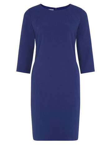 Cobalt Crepe Dress £35.00 click to visit Kaliko