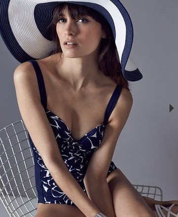 Elanor Print Swimsuit £55.00 click to visit Phase Eight