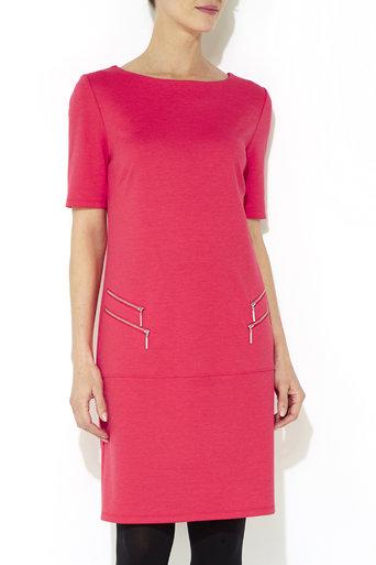 Pink Double Zip Shift Dress     Price: £29.00 click to visit Wallis