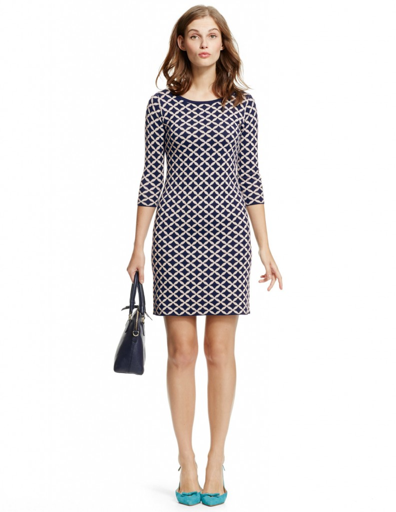 Jacquard Tunic Dress WH795 £99.00 click to visit Boden