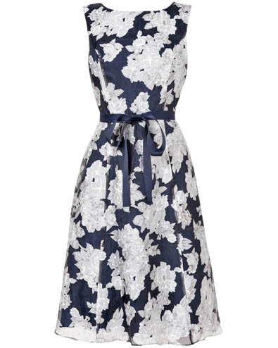 Norma Floral Burnout Dress £140.00 click to visit Phase Eight