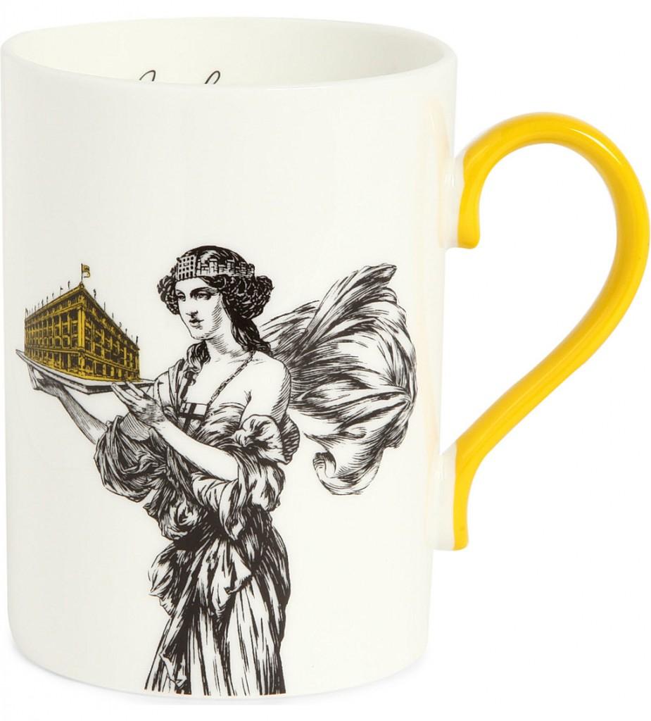 SELFRIDGES SELECTION Lady and Store Heritage mug     £15.00 click to visit Selfridges