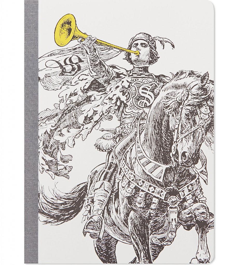 SELFRIDGES SELECTION Horn Blower notebook     £12.00 click to visit Selfridges