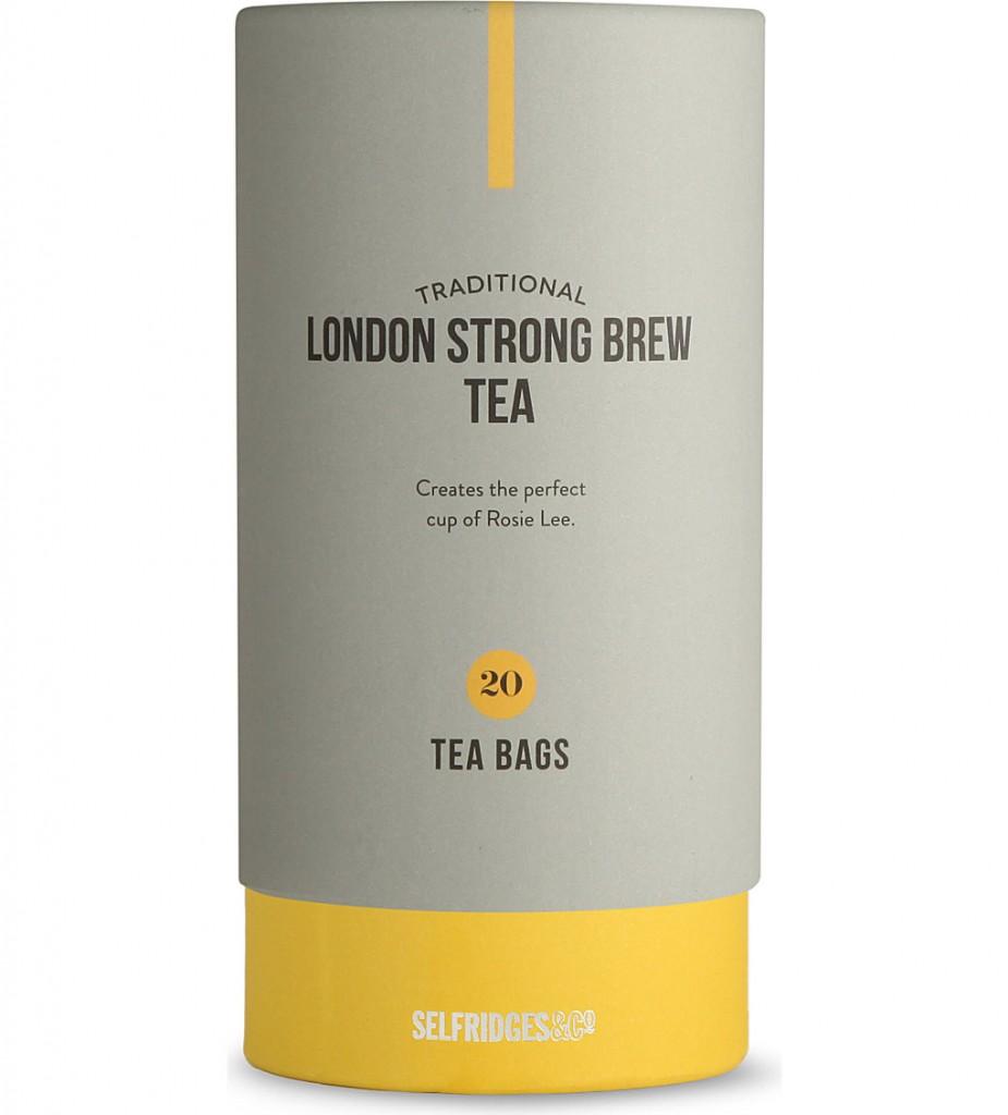 SELFRIDGES SELECTION London Strong brew tea bags     £6.99 click to visit Selfridges