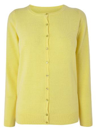 Lemon Supersoft Crew Cardigan     Price: £15.00 Click to visit BHS