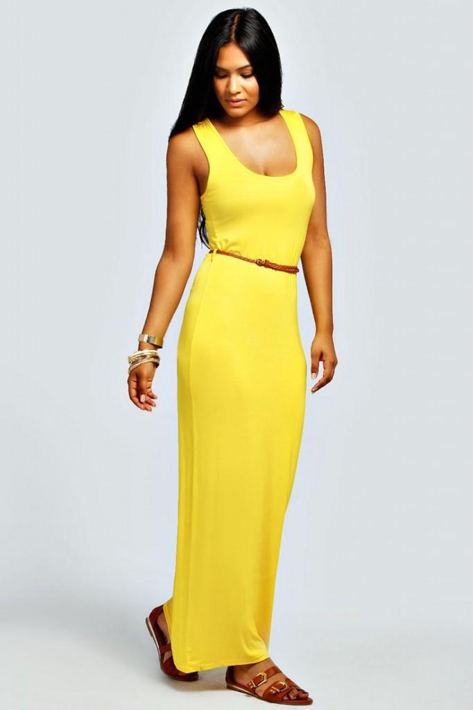 Laura Racer Back Maxi Dress £10 click to visit Boohoo