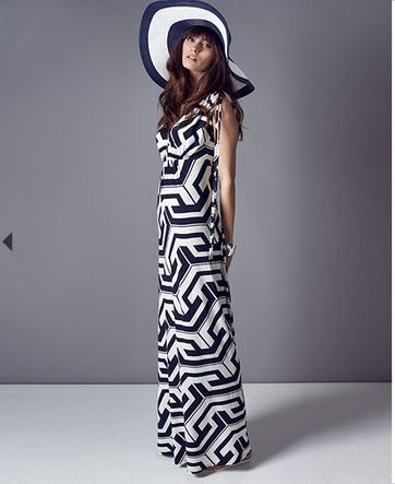 Grace Graphic Maxi Dress £89.00 click to visit Phase Eight