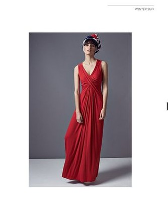Fiona Cross Front Maxi Dress £79.00 click to visit Phase Eight