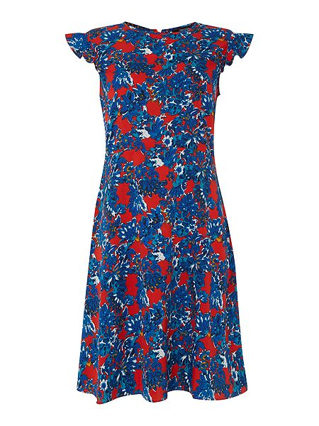 Therapy Floral scratch print dress £45 click to visit House of Fraser