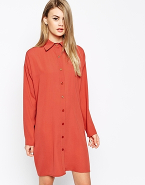 The Laden Showroom X Mirror Mirror Classic Shirt Dress  £52 click to visit ASOS