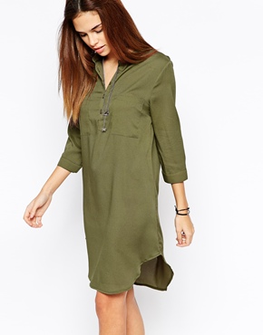 Glamorous Long Sleeve Shirt Dress £28.00 click to visit ASOS