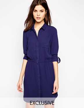 Warehouse Exclusive Shirt Dress £48.00 Click to visit ASOS