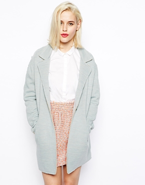 ASOS Coat in Texture with Raw Edge £75.00 NOW £41.00 click to visit ASOS
