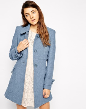 ASOS Coat in A Line With Panel Detail £80.00 NOW £56.00 Click to visit ASOS