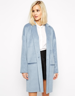 River Island Longline Swagger Coat £80.00 NOW £48.00 Click to visit ASOS