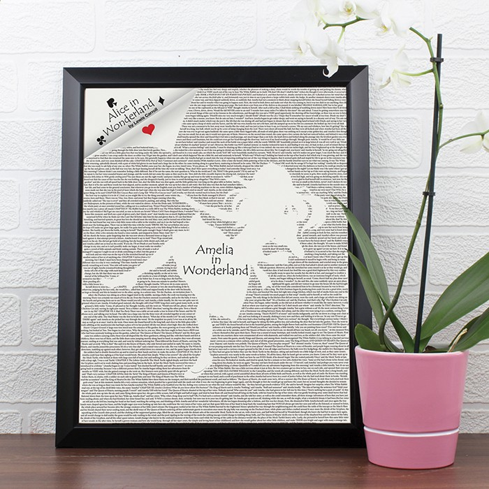 Personalised Alice In Wonderland Framed Print £19.99 click to visit Toxicfox