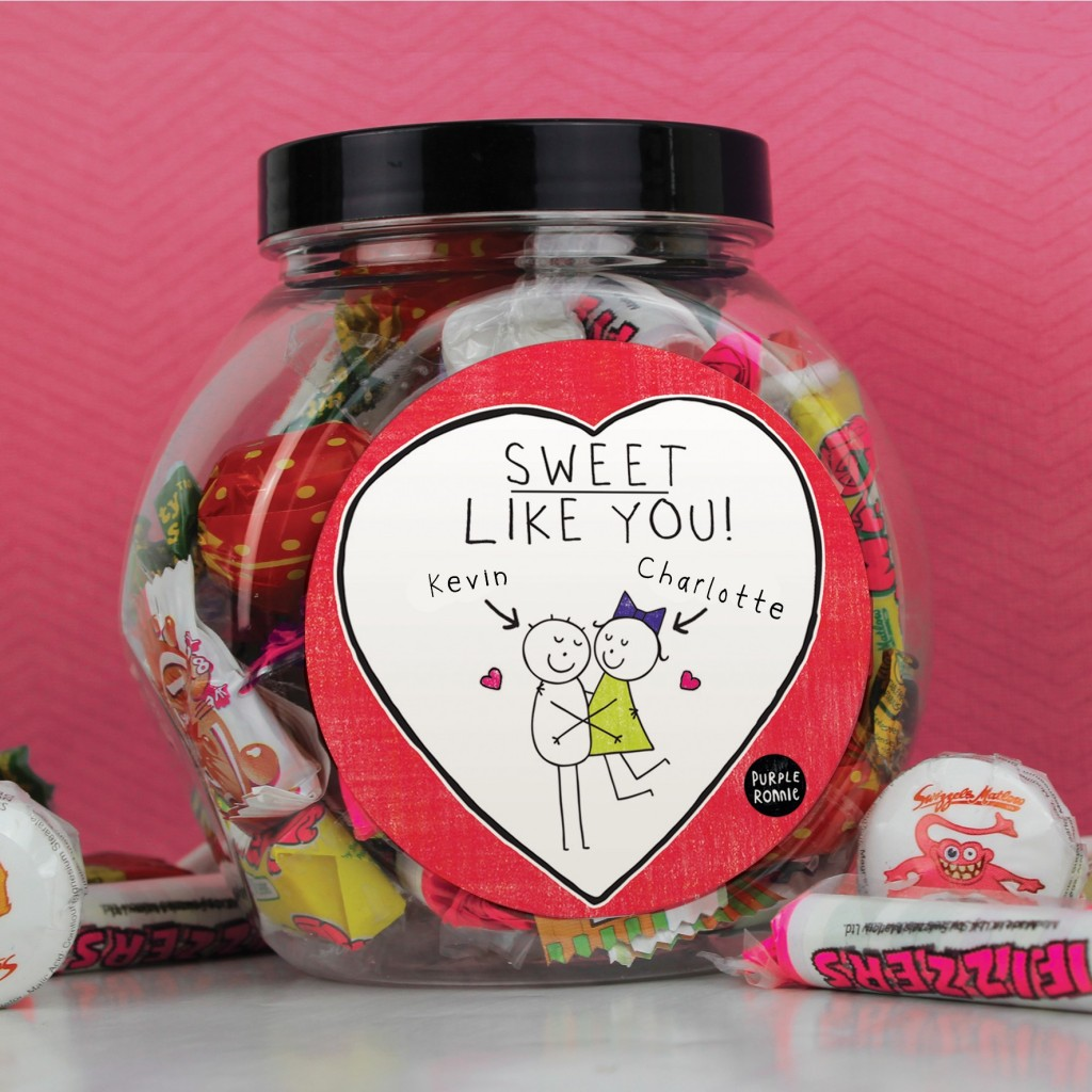 Purple Ronnie Couple Sweet Jar £9.99 click to visit Toxicfox