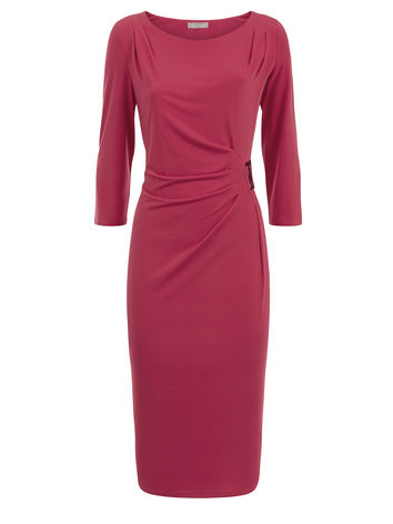 Cerise ITY buckle dress  £71.20 click to visit Planet