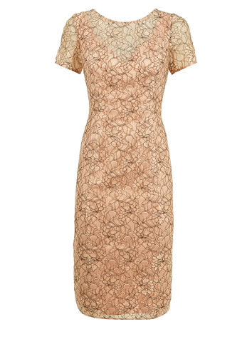 Black peach corded lace dress £95.20 click to visit Planet