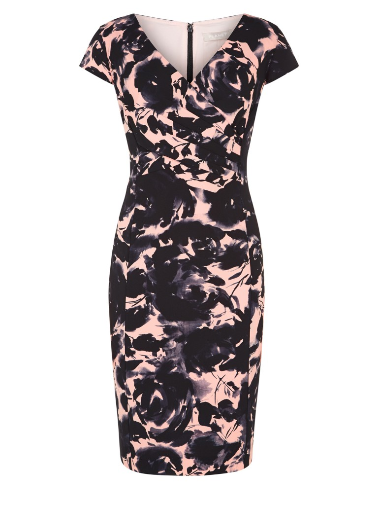 PEACH PRINTED DRESS £79.20 click to visit Planet
