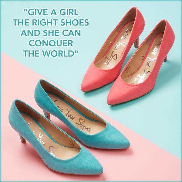 Court shoes £12 click to visit Asda George