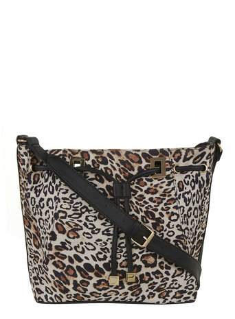 Leopard plate duffle bag     Was £28.00     Now £10.00 click to visit Dorothy Perkins