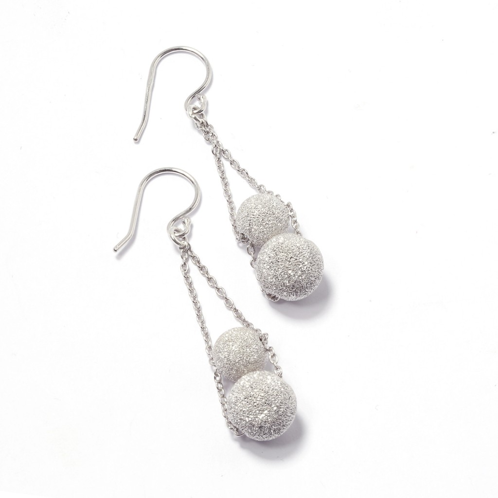 Lola Sterling Silver Cosmic Earrings £34 click to visit Gemporia