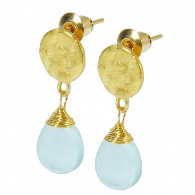 Azuni Aqua Drop Earrings £24.95 click to visit Handpicked Collection
