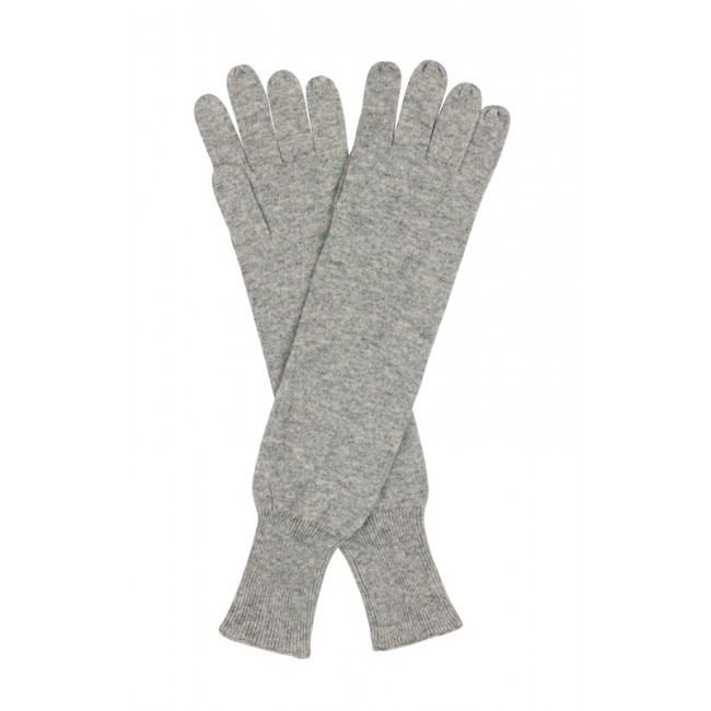 Cashmere Long Gloves - Grey £24.50 click to visit Handpicked Collection
