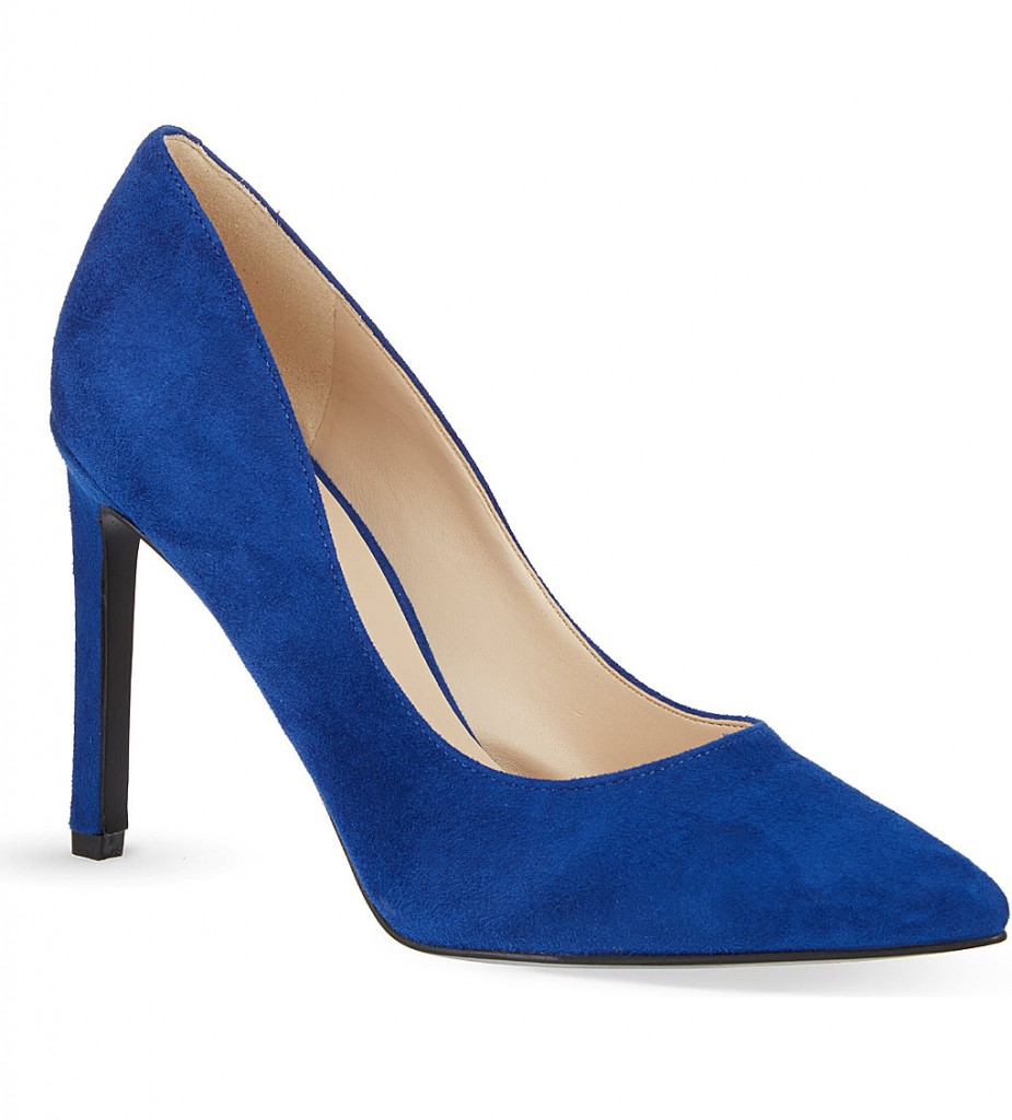 NINE WEST Tatiana suede court shoes £69 click to visit Selfridges