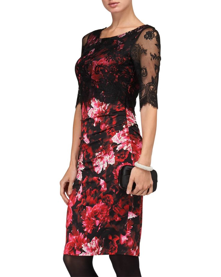 Amelia Over-print Lace Dress £39 click to visit Phase Eight